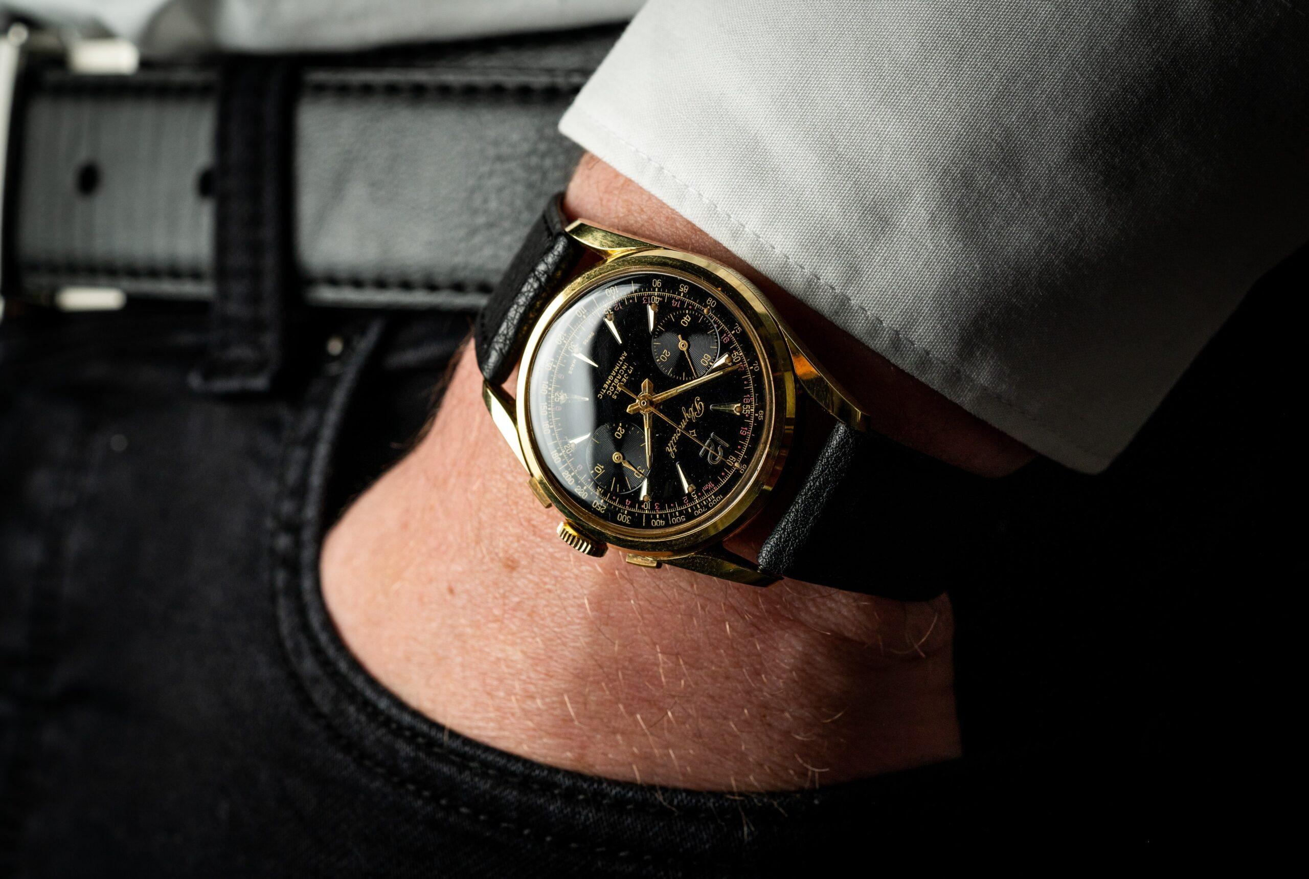 vintage plymouth handopwinder horloge