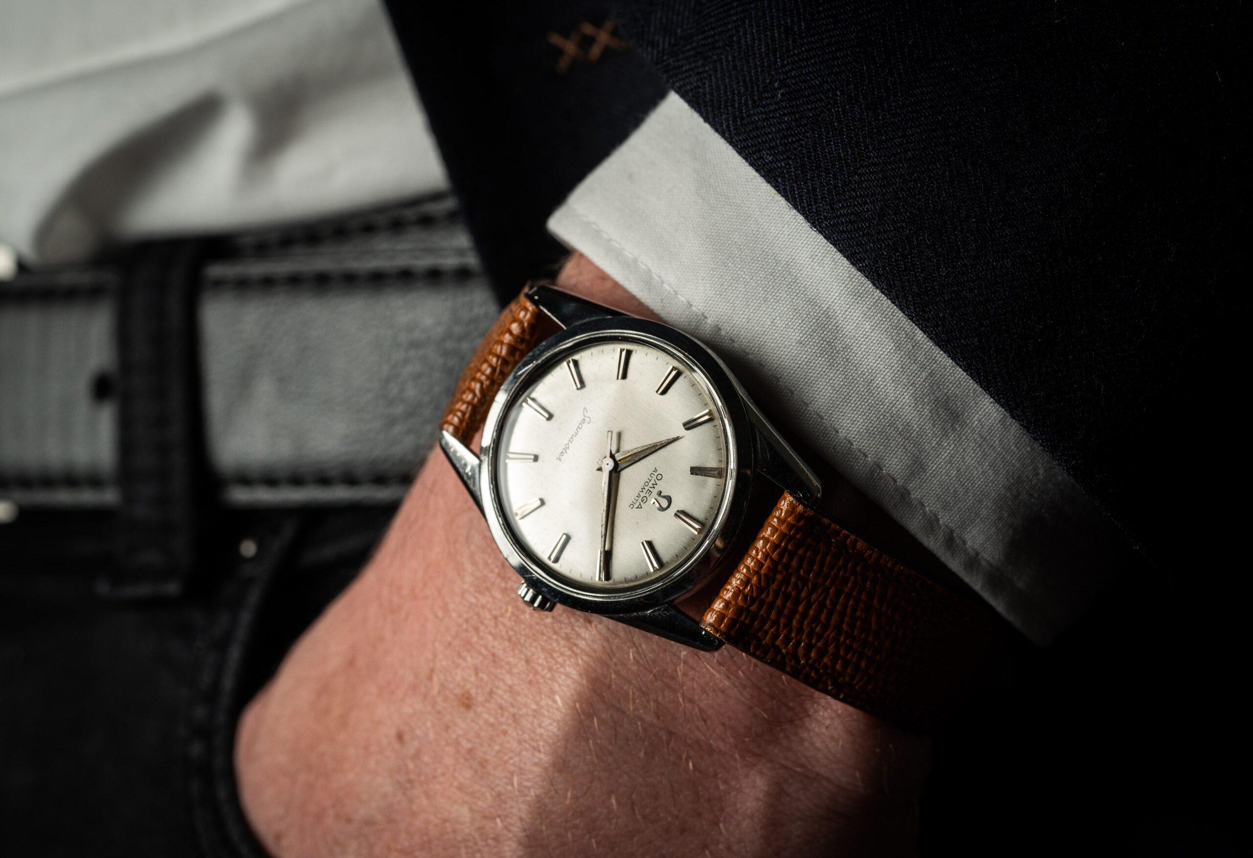 vintage omega automatisch horloge