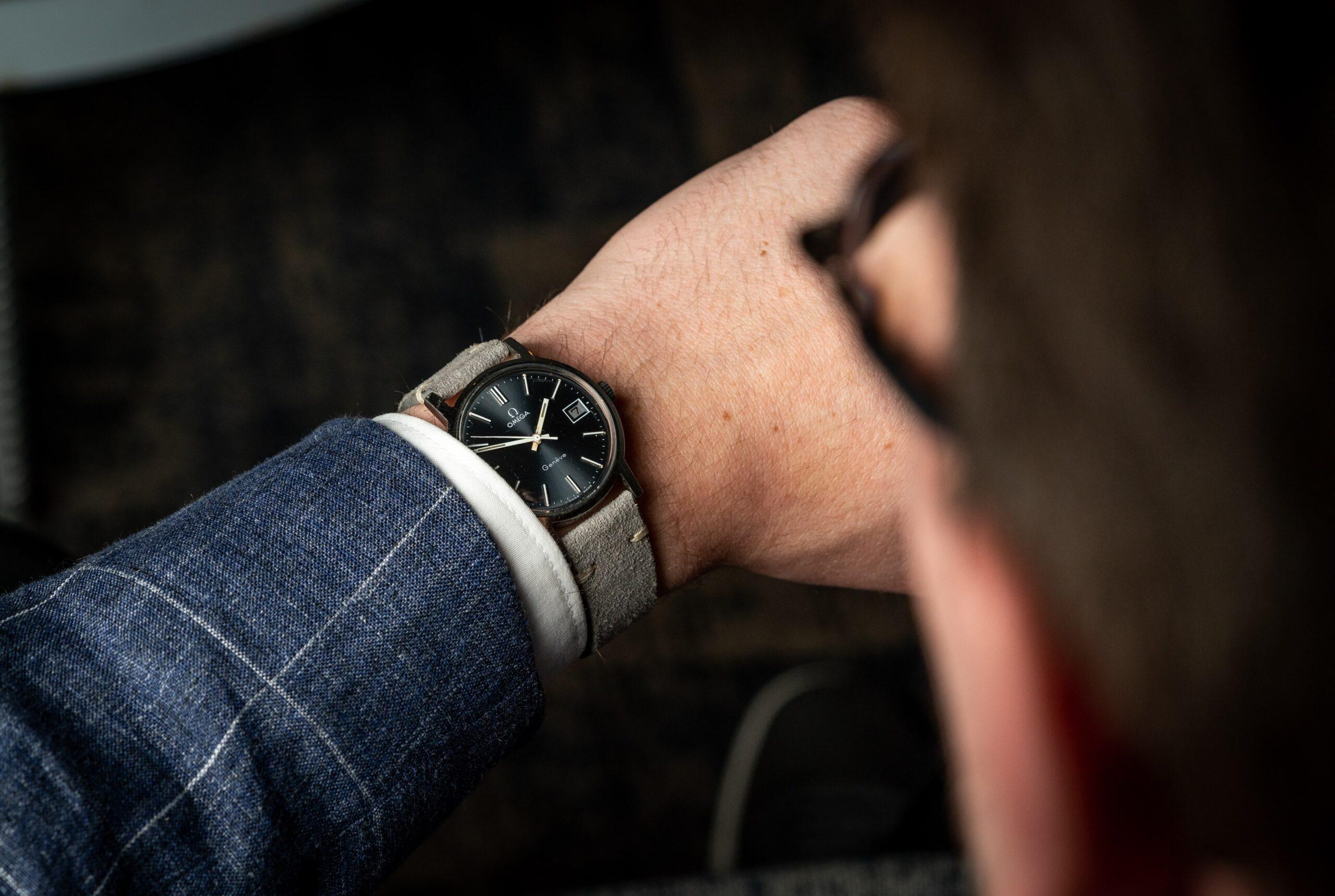 vintage omega geneve horloge