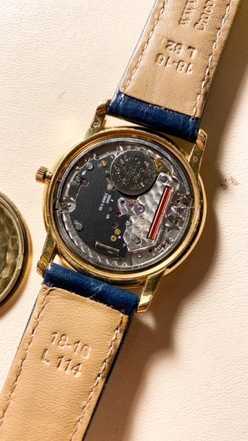 omega de ville prestige quartz horloge